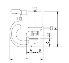 Máy đột chữ C