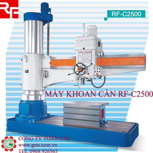 Máy khoan cần thủy lực RFC2500