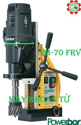 Máy khoan từ có chức năng ta rô PB-70FRV