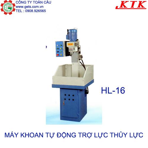Máy khoan tự động trợ lực thủy lực HL16