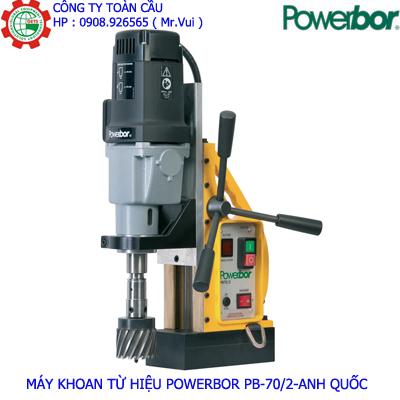 Máy khoan từ Powerbor PB70/2