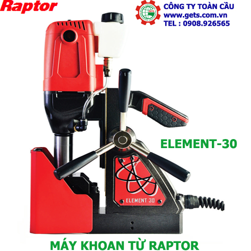 Máy khoan từ Raptor Element30