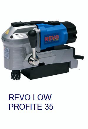 Máy khoan từ thấp Revo Low Profile 35