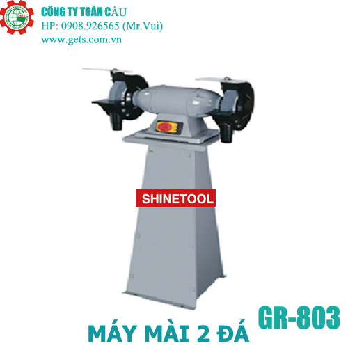 Máy mài 2 đá GR-803 hiệu Shinetool