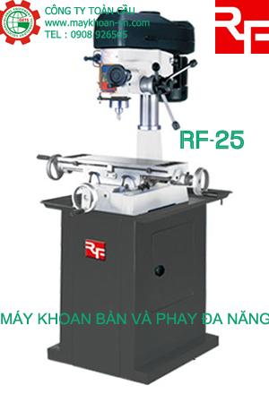 Máy khoan bàn và phay đa năng Rong Fu RF-25