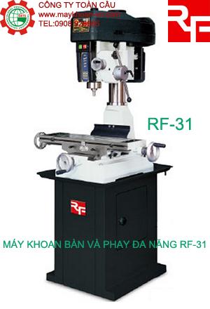 Máy khoan bàn và phay đa năng Rong Fu RF-31