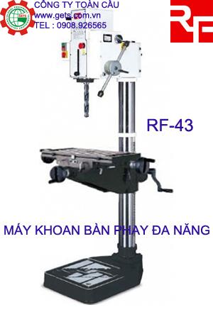 Máy khoan bàn và phay Rong Fu RF-43